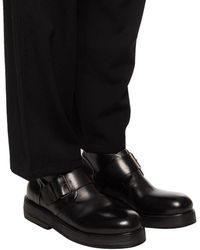 Marsèll Leather Ankle Boots Black