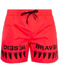 DIESEL Swim Shorts - Pink