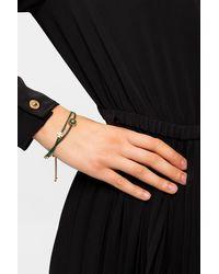 Tory Burch Kira Enamelled Slider Bracelet - Orange