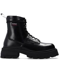 Eytys 'michigan' Leather Ankle Boots - Black