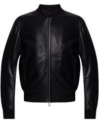 Emporio Armani Bomber Jacket - Black