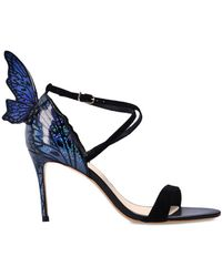 Sophia Webster 'talulah' Stiletto Sandals Black