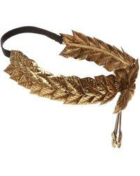 Gucci Embellished Headband - Metallic