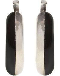 Marni Hanging Earrings - Black
