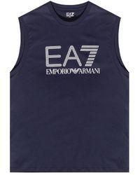 EA7 Sleeveless T-shirt - Blue