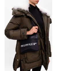 Philipp Plein Branded Shoulder Bag - Black