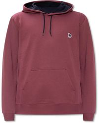 PS by Paul Smith Patched Hoodie - Multicolour