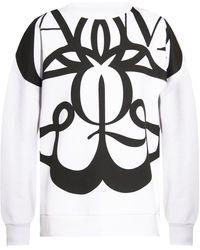 Alexander McQueen Logo-printed Sweatshirt White