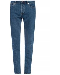 A.P.C. Tapered Leg Jeans - Blue