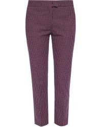 Paul Smith - Patterned Creased Trousers - Lyst