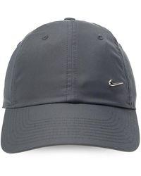 Nike H86 Metal Swoosh Cap Baseball Caps - Gray