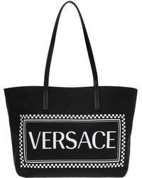 ec70216330 Branded Shopper Bag - Black