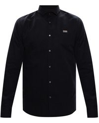 Philipp Plein Logo Shirt Black