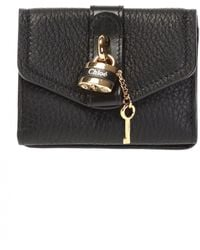 Chloé 'aby' Wallet - Black