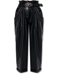 Balmain Loose-fitting Pants - Black