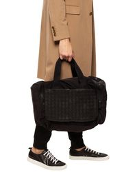 Bottega Veneta 'intrecciato' Weave Duffel Bag - Black