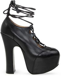 Vivienne Westwood 'elevated Ghillie' Platform Boots - Black