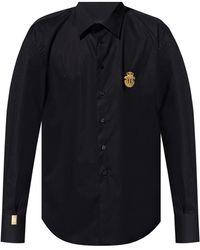Billionaire Shirt With Logo - Black