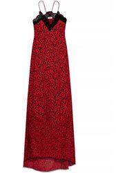 Zadig & Voltaire Floral-motif Dress - Red