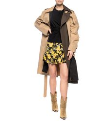 Michael Kors Ruffle Skirt - Yellow