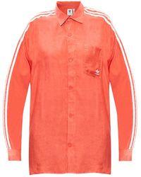 adidas Originals Logo Shirt Orange
