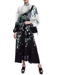 Givenchy Patterned Dress Black