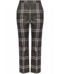 Marni Creased Patterned Trousers - Gray
