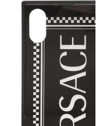 Versace Iphone Xs Max Case Unisex Black