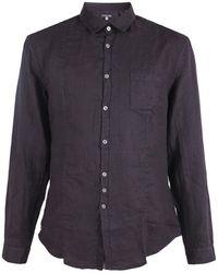 John Varvatos - Linen Shirt - Lyst