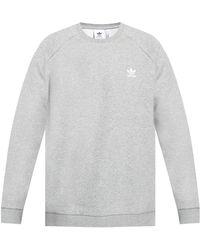 adidas Originals Sweatshirt With Logo - Grey