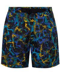 Nike 'acg' Patterned Swim Shorts Black