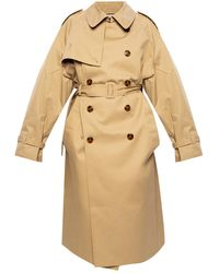 Vetements - Double-breasted Trench Beige - Lyst