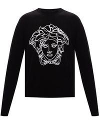 Versace Medusa Head Sweater - Black
