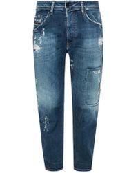 DIESEL - 'narrot' Distressed Jeans - Lyst