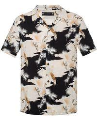 AllSaints - 'talon' Patterned Shirt - Lyst