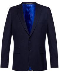 Paul Smith Wool Suit Men's Navy Blue