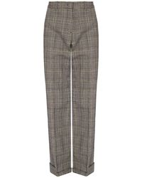PS by Paul Smith Pleat-front Pants - Gray