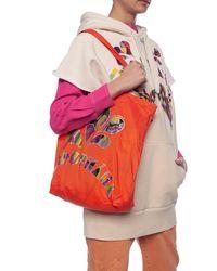 Isabel Marant Shopper Bag With Logo - Orange
