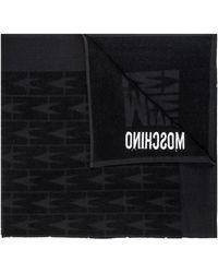 Moschino Bath Towel - Black