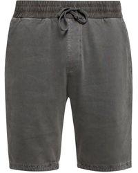 AllSaints 'pierce' Drawstring Shorts Gray