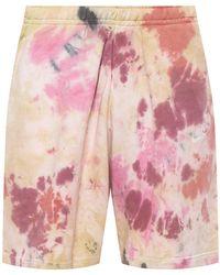 Nike Sweat Shorts With Logo - Pink