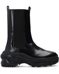 Maison Margiela Slip-on Platform Shoes Black