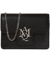 Alexander McQueen - 'insignia' Shoulder Bag - Lyst