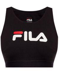 Fila Sports Bra With Logo Black
