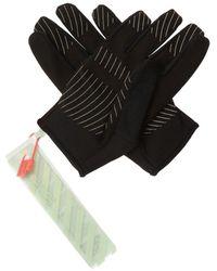 Off-White c/o Virgil Abloh Training Gloves - Black
