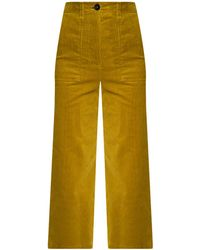 PS by Paul Smith Corduroy Trousers - Green