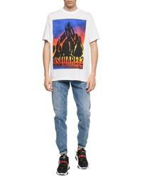 DSquared² Logo Print T-shirt - White