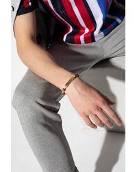 Dolce & Gabbana Bracelet With Logo Beige - Natural
