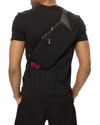 Fendi One-shoulder Backpack With Logo Black