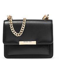 MICHAEL Michael Kors Jade Xs Gusset Crossbody Bag Black
